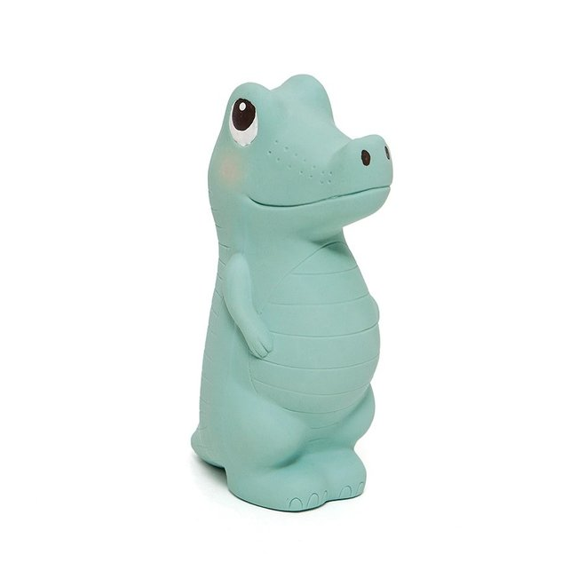 Charlie the Crocodile Toy – 100% natural rubber