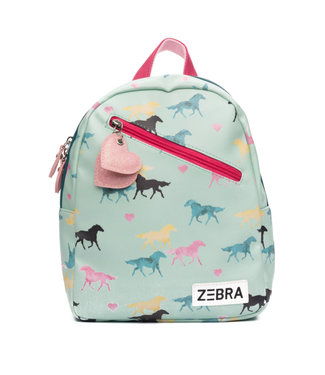 Zebra Trends Rugzak Wild Horses Small