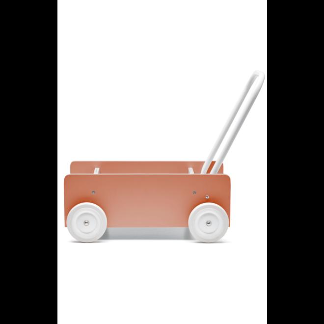 Houten Loopwagen Abrikoos