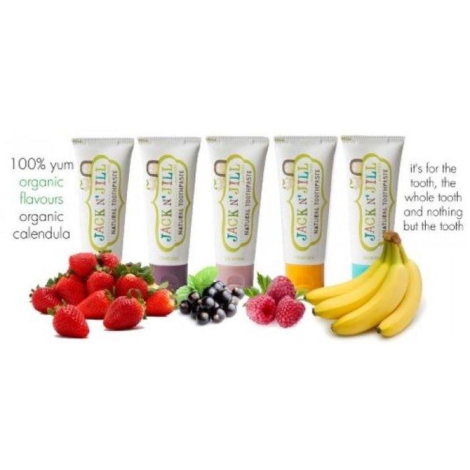 Kindertandpasta - Organic Banana