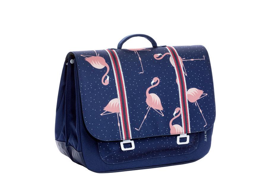Boekentas Maxi Flamingo