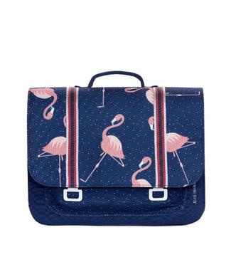 Jeune Premier Boekentas Midi Flamingo