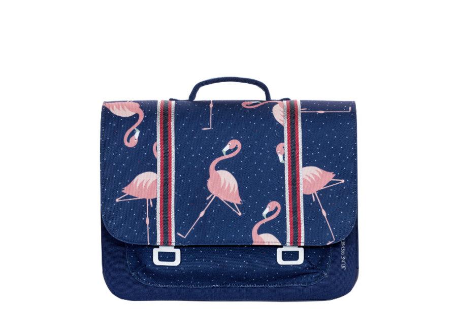 Boekentas Midi Flamingo