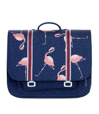 Jeune Premier Boekentas Maxi Flamingo