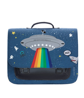 Jeune Premier Boekentas Midi Space Rainbow