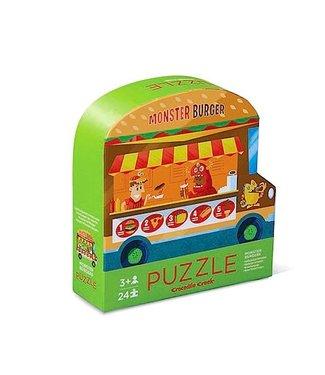 Crocodile Creek Food Truck (24pcs) – 2 zijdige puzzel