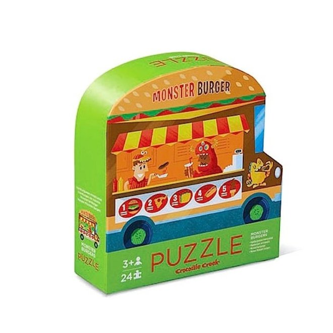 Food Truck (24pcs) – 2 zijdige puzzel