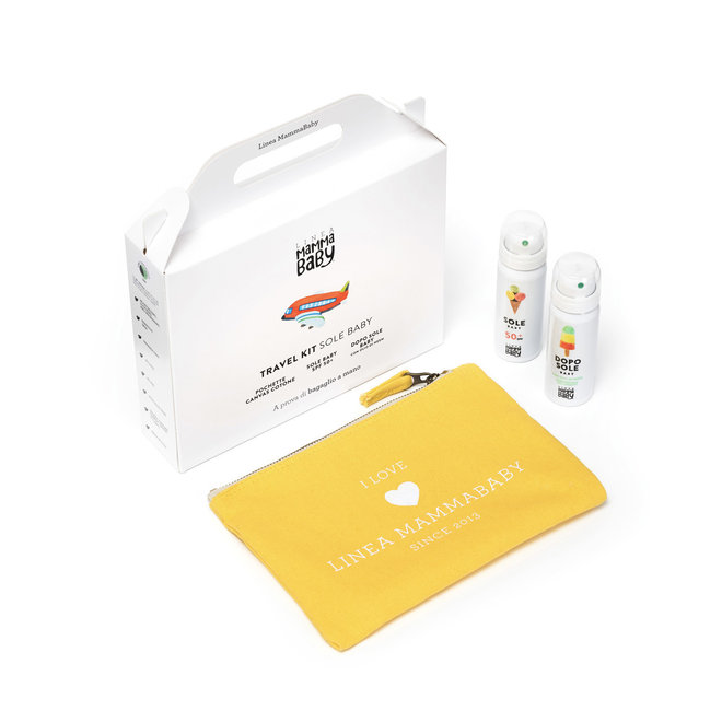 Baby Sun Travel Kit  – Zon & Aftersun met Tasje