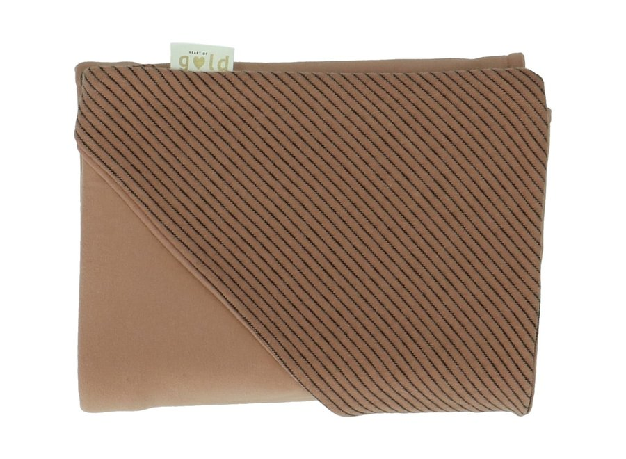 Wikkelcap Claudy Stripes Arabe   Heart of Gold