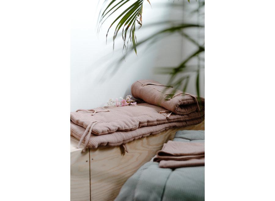 Donsovertrek & Sloop 100x135cm Dami Stripes Arabe | Heart of Gold