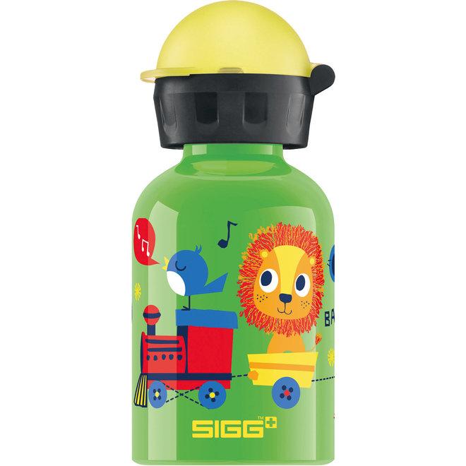 Drinkfles Jungle Trein  0.3L   Sigg