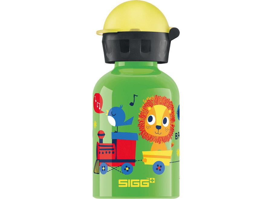 Drinkfles Jungle Trein  0.3L | Sigg