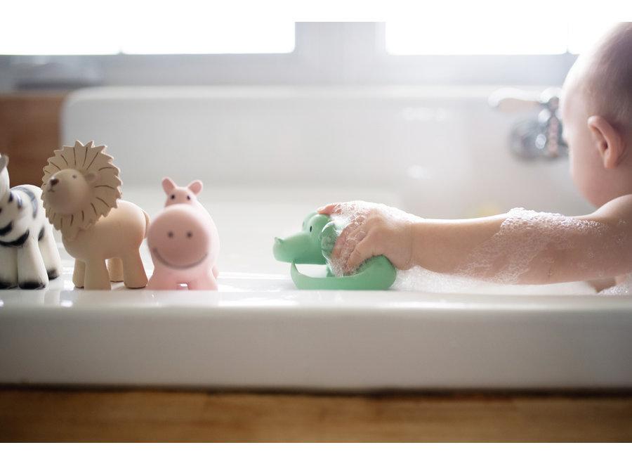 Badspeeltje Krokodil met belletje | Tikiri