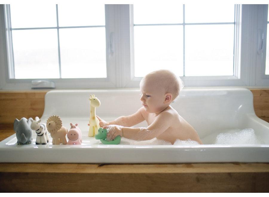 Badspeeltje Giraf met belletje | Tikiri