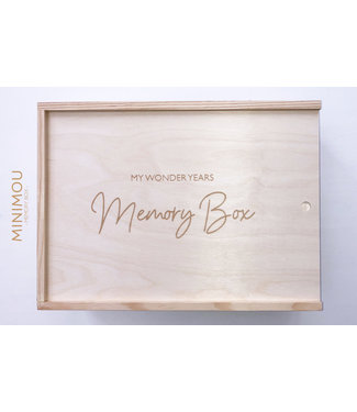 Minimou Memory Box - My Wonderyears | MiniMou