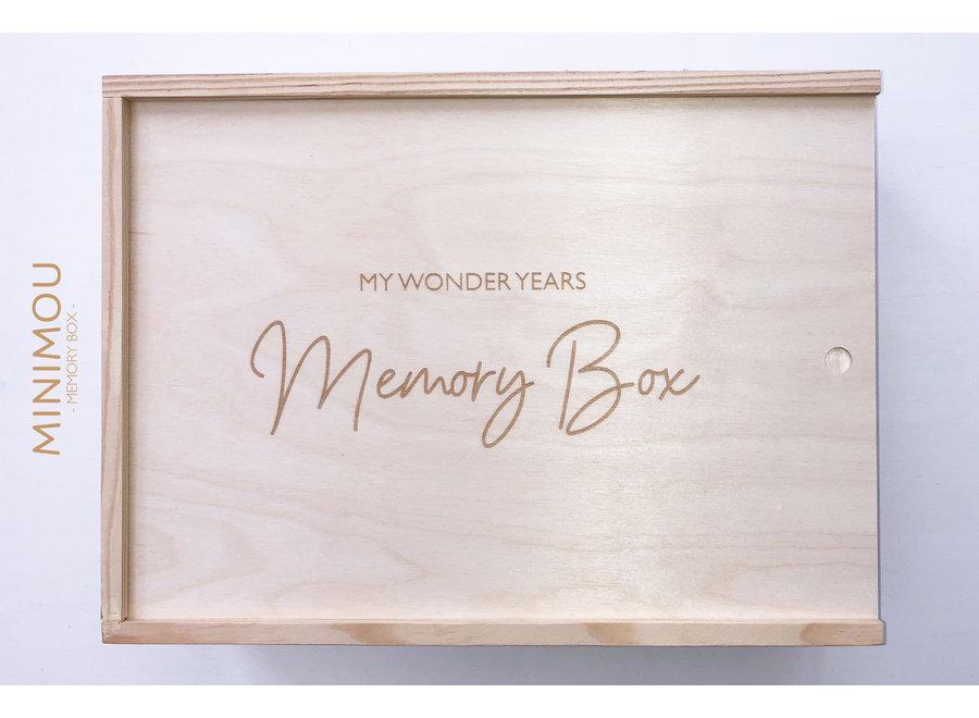Memory Box - My Wonderyears | MiniMou