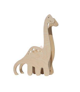 Miniwoo Houten Kinderlamp 'Dino' | MiniWoo
