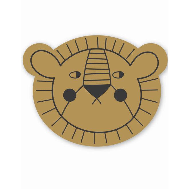 Placemat Mr. Lion - Mustard   Studio Loco