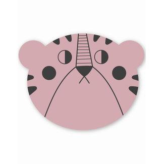 Studio Loco Placemat Mrs. Bear - Pink | Studio Loco