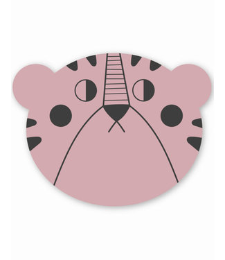Studio Loco Placemat Mrs. Bear - Pink | Studio Loco