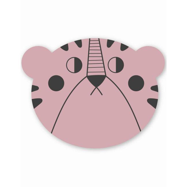 Studio Loco Placemat Mrs. Bear - Pink   Studio Loco