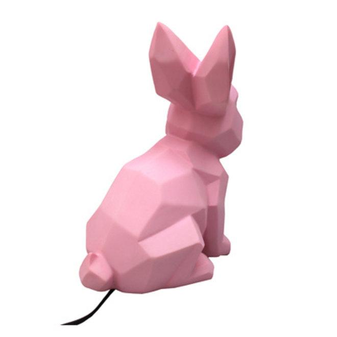 Origami Konijn Pink Nachtlamp | House of Disaster