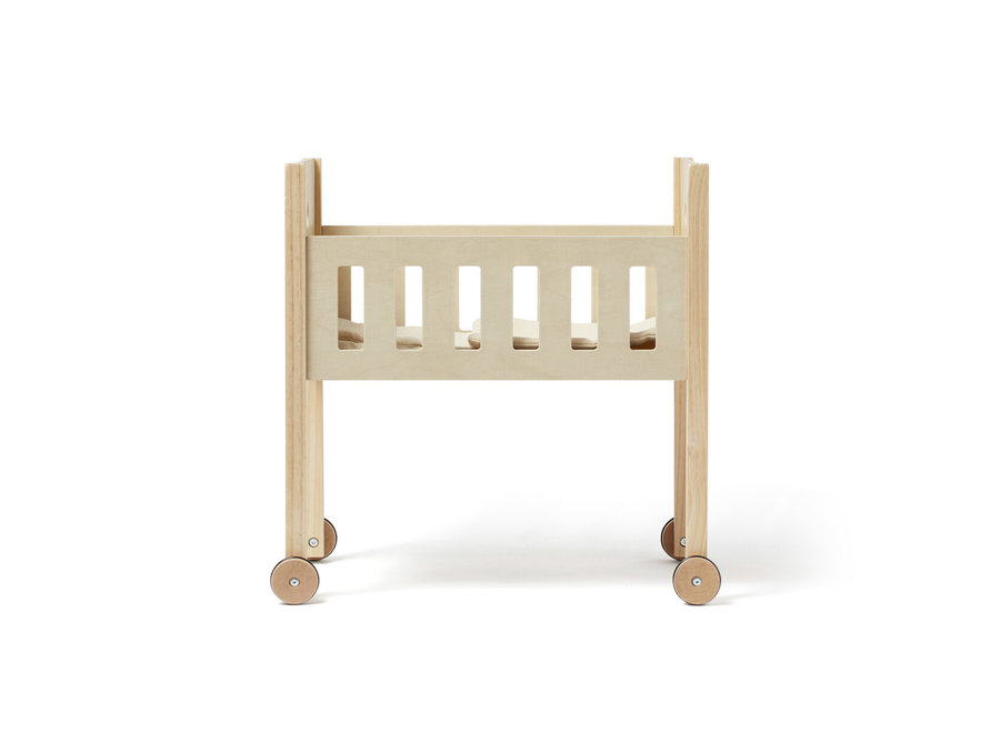 Poppenbed nature incl. bedset | Kid's Concept
