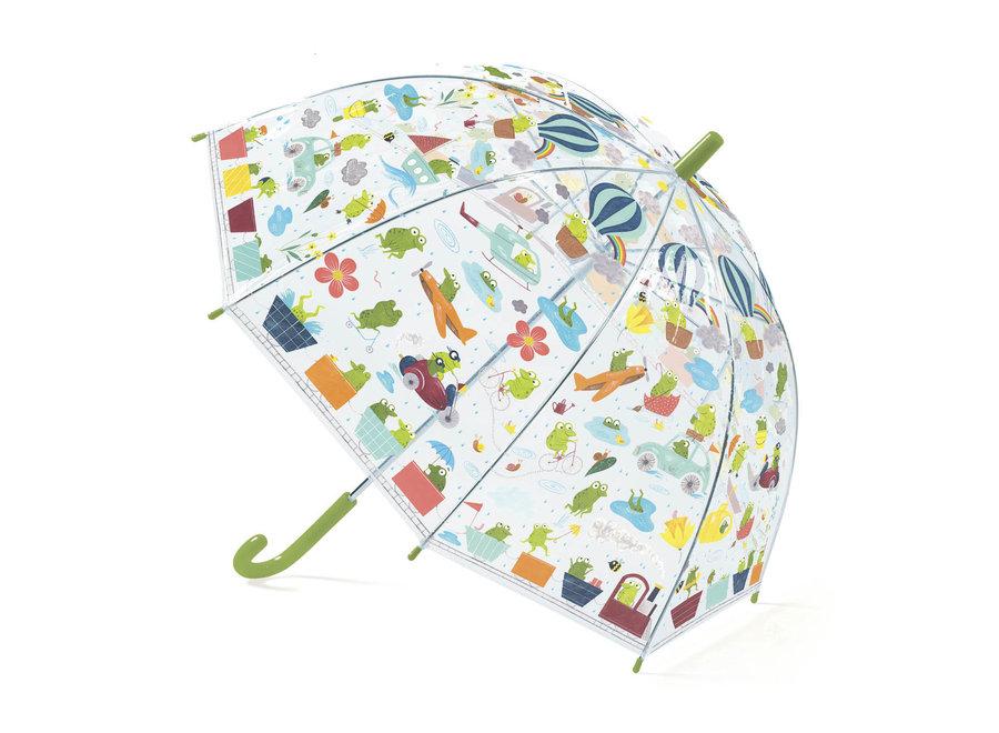 Kinderparaplu Froglets | Djeco