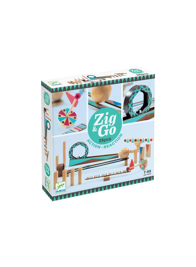 Zig & Go dominoset - 28st | Djeco