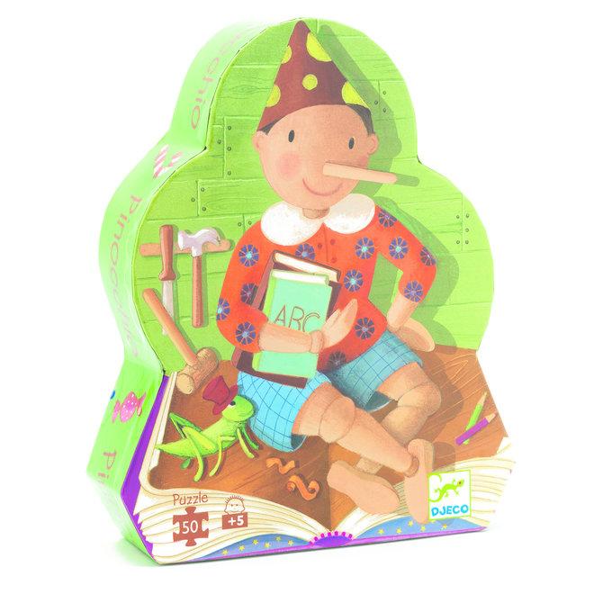 Pinocchio Vormenpuzzel (50st) | Djeco