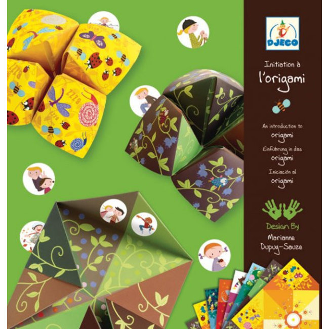 Origami - Fortune Tellers - Dieren   Djeco