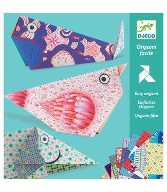 Djeco Eenvoudige Origami - Grote Dieren | Djeco