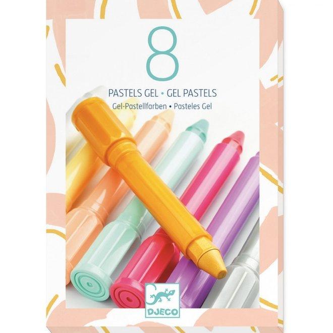 Gelstiften Pastel Zacht (8st) | Djeco