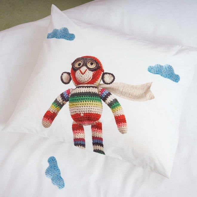 Dekbedovertrek Airplane Monkey | Snurk