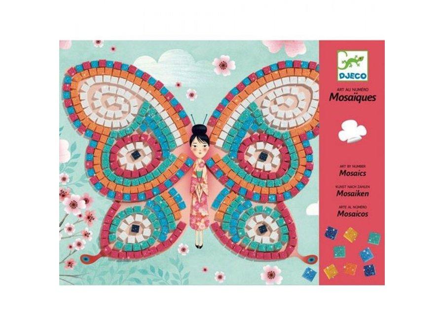 Mozaïekset Vlinders - Art by Numbers | Djeco