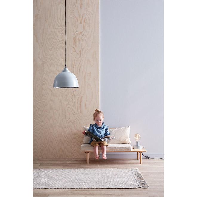Tapijt Katoen/Jute 70x140cm Blauw/Grijs | Kid's Concept