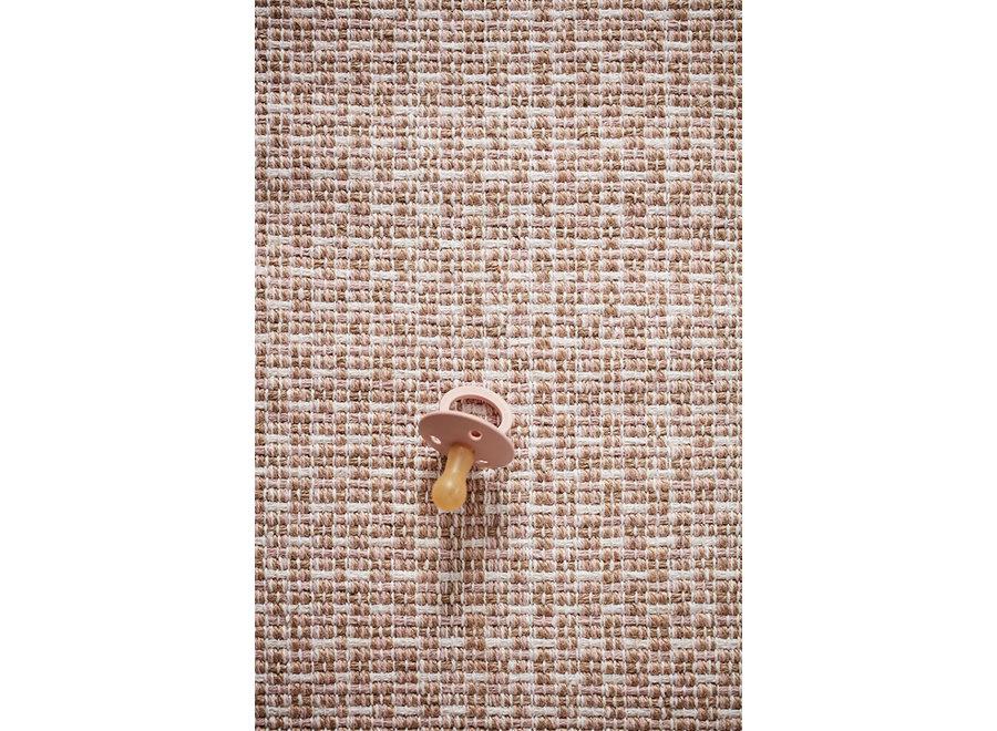 Tapijt Katoen/Jute 70x140cm Roze   Kid's Concept
