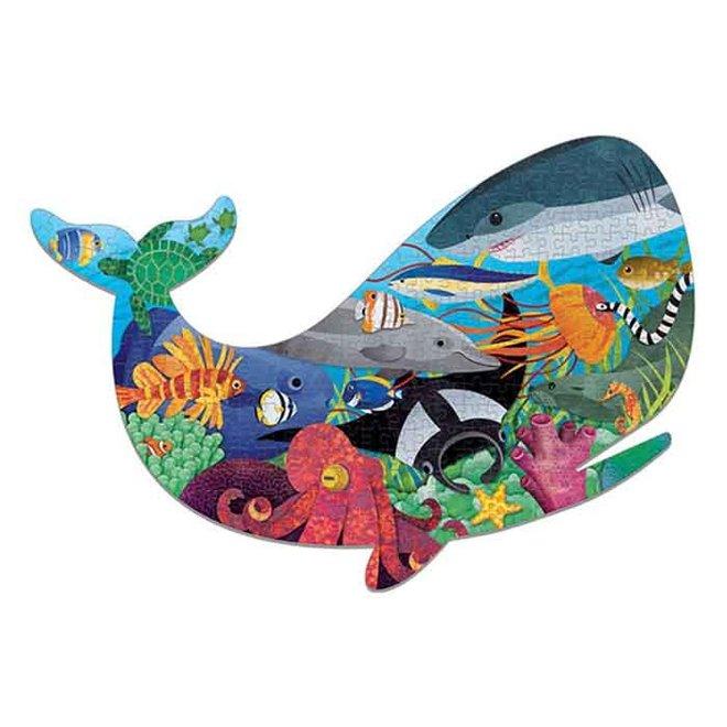 Shaped Puzzel Ocean Life - 300St