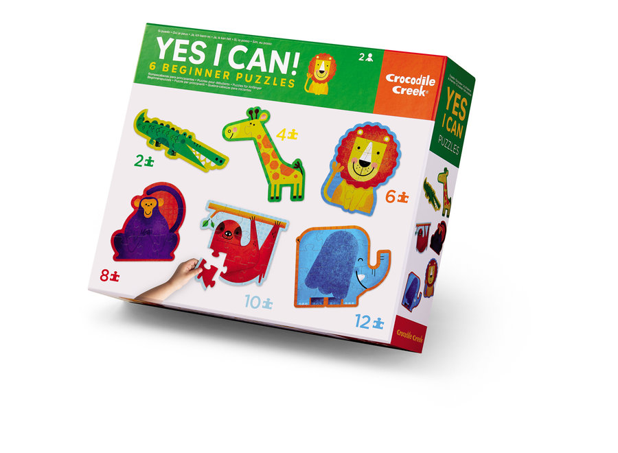 Yes I Can - 6 Beginners Puzzels | Crocodile Creek