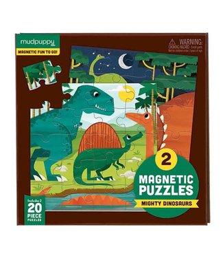 Mudpuppy Magnetic Fun Puzzel Mighty Dinosaurs | Mudpuppy