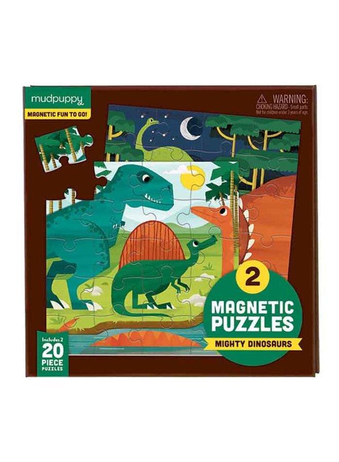 Magnetic Fun Puzzel Mighty Dinosaurs | Mudpuppy