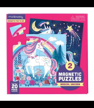 Mudpuppy Magnetic Fun Puzzel Magical Unicorn | Mudpuppy