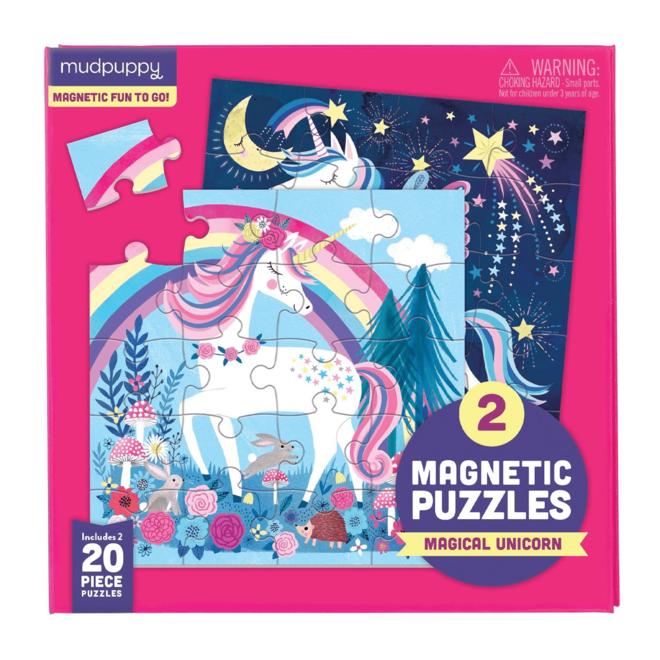 Magnetic Fun Puzzel Magical Unicorn | Mudpuppy