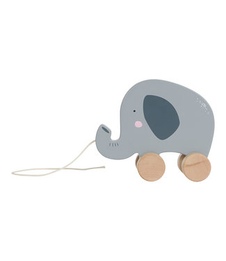 Little Dutch Houten trekdier - olifant | Little Dutch