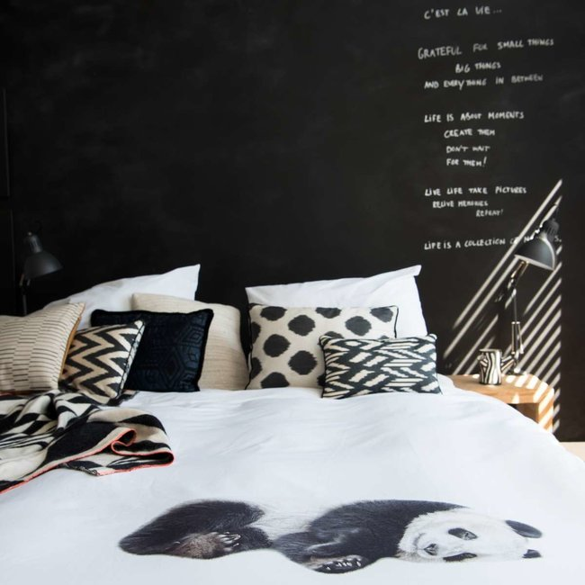 Snurk Flanellen Dekbedovertrek Lazy Panda   Snurk