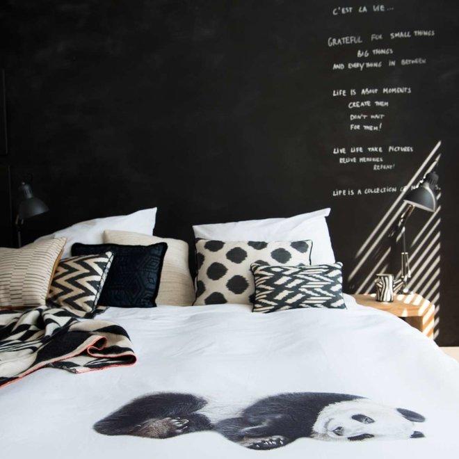 Flanellen Dekbedovertrek Lazy Panda | Snurk