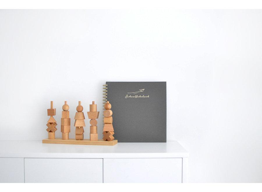 Schoolfotoboek - Linnen Grijs (NL)  | House of Products