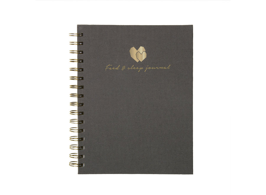 Baby Feed & Sleep Journal - Linnen Grijs | House of Products