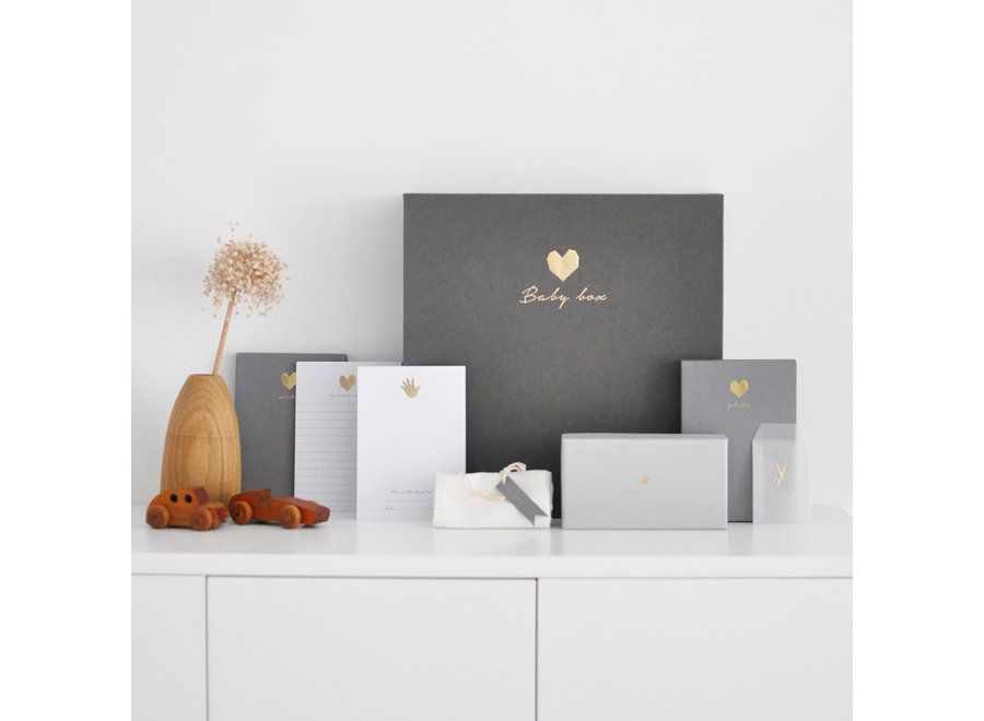 Baby Memory Box  - Linnen Grijs (NL)  | House of Products