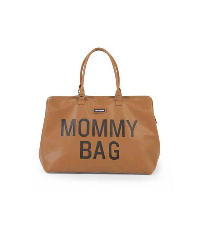 Childhome Mommy Bag - Verzorgingstas Lederlook Bruin   Childhome